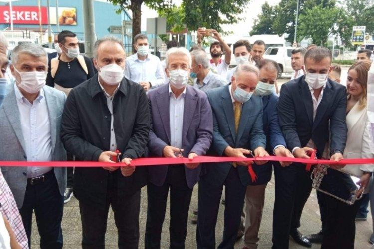 Bursa'da başkanları buluşturan açılış