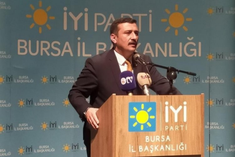 Aydın, İYİ Parti Bursa İl Teşkilatına övgüler yağdırdı!