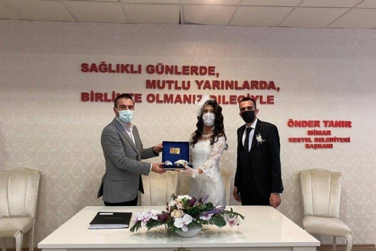 Bursa Kestel'de 500 çift dünya evine girdi!