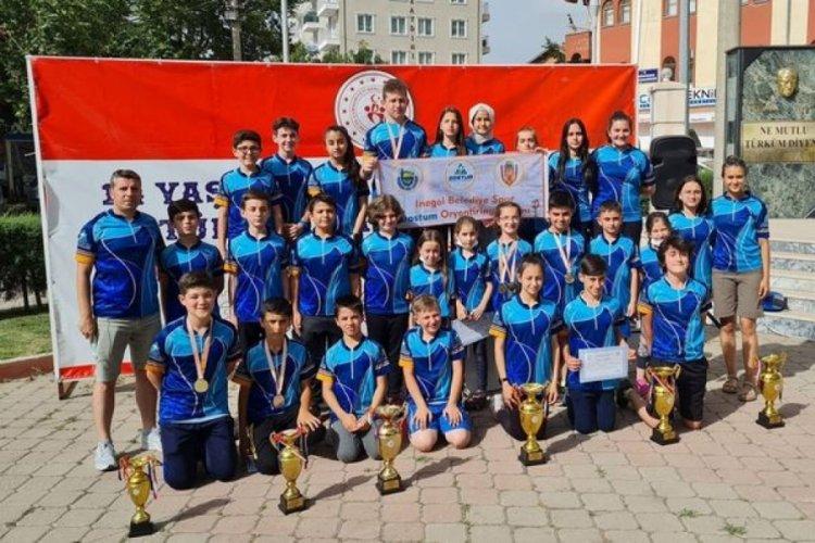 Bursa'da DOSTUM Oryantiring Takımı, rekor kırdı
