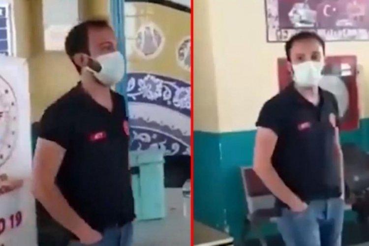Bakan Koca'dan otogardaki sağlık personeli hakkında açıklama