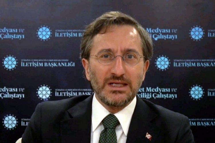 İletişim Başkanı Fahrettin Altun'dan müsilaj mesajı