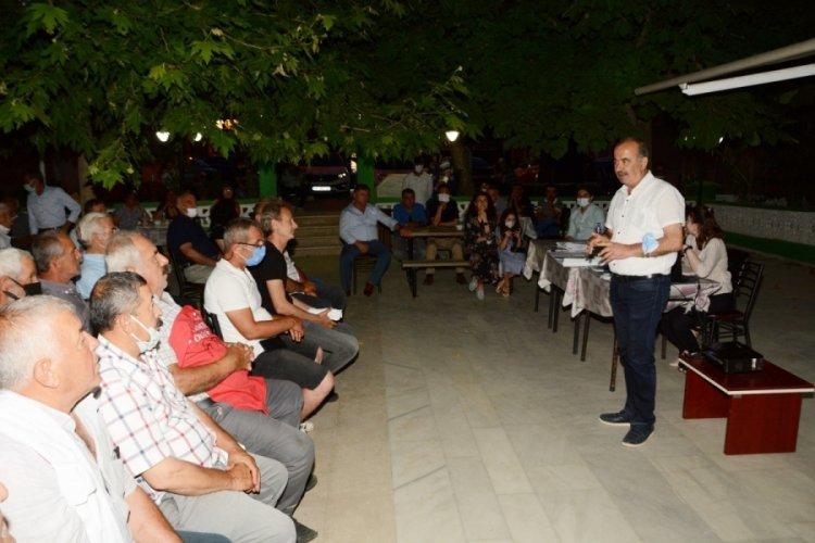 Bursa Mudanya'da imar planları halka sunuluyor