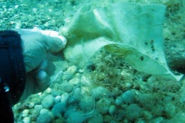 Antalya denizi çöplüğe döndü!