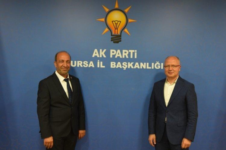 PERDER'den AK Parti Bursa İl Başkanı Gürkan'a ziyaret