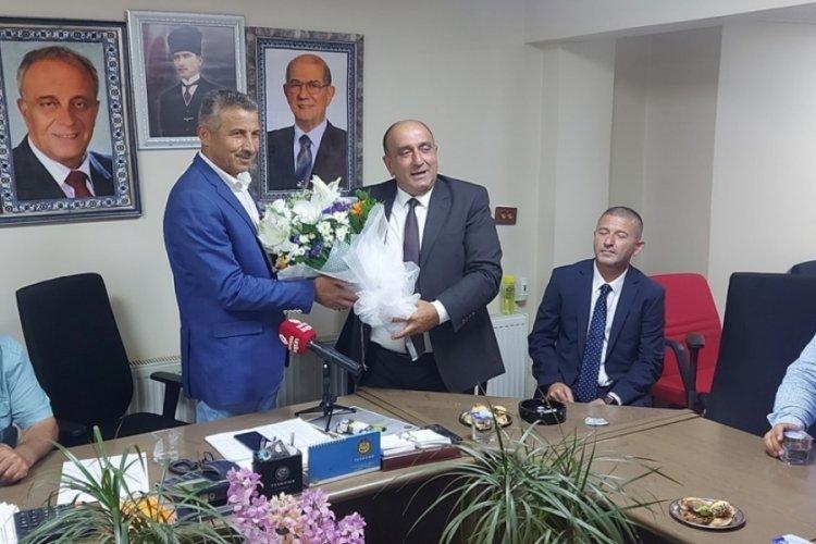 MUYAD Başkanı Keçici'den Mudanya Esnaf ve Sanatkarlar Kredi Kefalet Kooperatifi Başkanı İlhan'a ziyaret