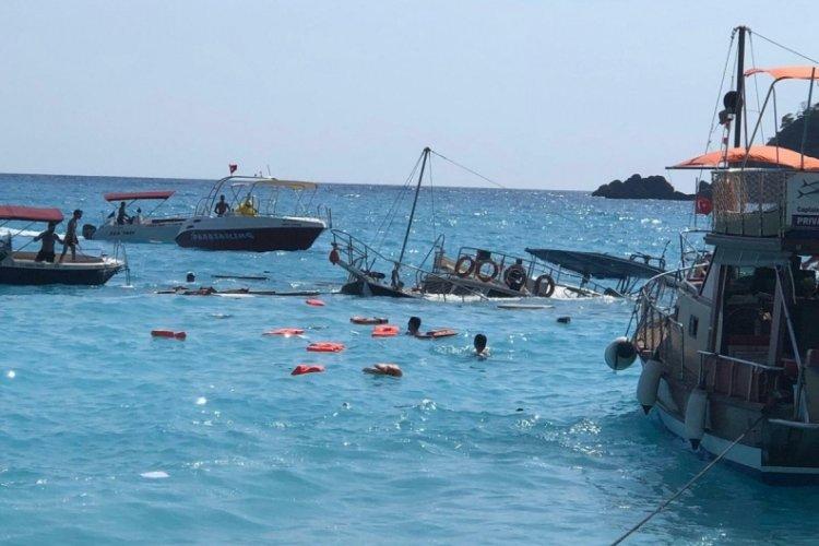 Muğla'da batan teknenin kaptanı: Kaza dalgadan kaynaklı