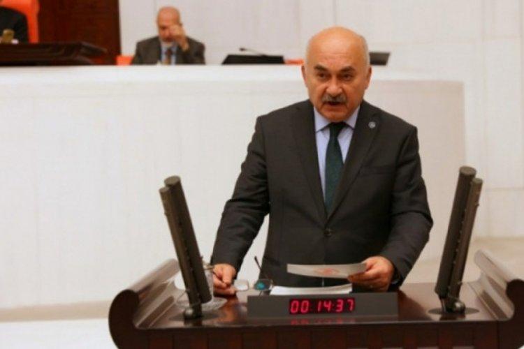 MHP Bursa Milletvekili Vahapoğlu, ücretli öğretmenlerin sorunlarına dikkat çekti