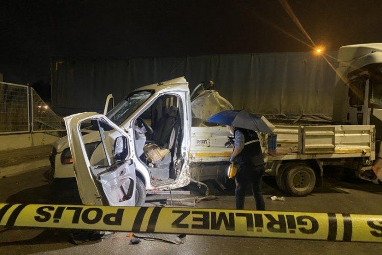 Eskişehir'de tır kazası!