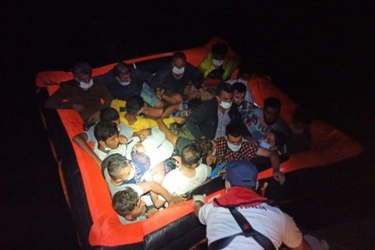 Bodrum açıklarında 37 göçmen kurtarıldı