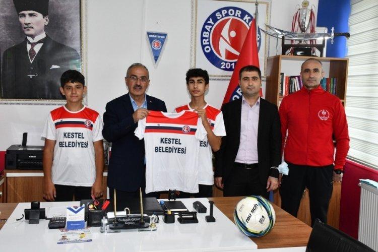 Bursa'da Kestel Belediyesi sporun ve sporcuların yanında