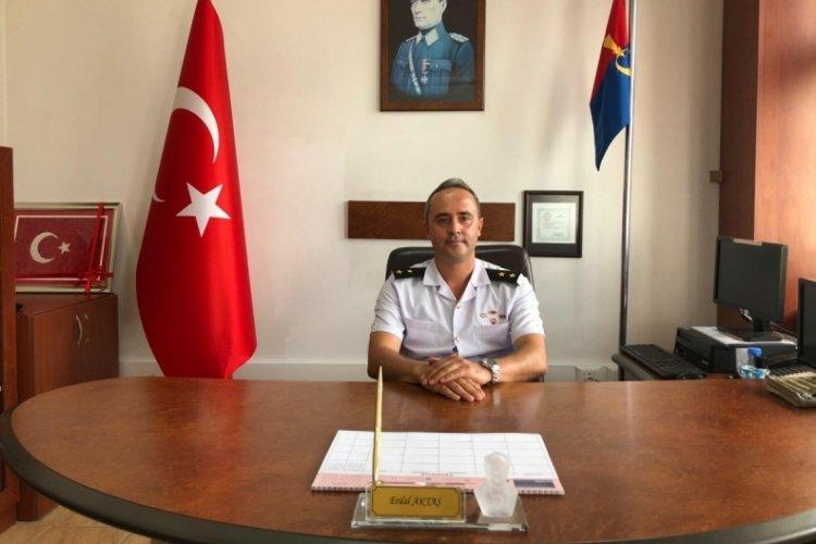 Bursa Yenişehir'de Jandarma Komutanlığına Aktaş vekâlet edecek