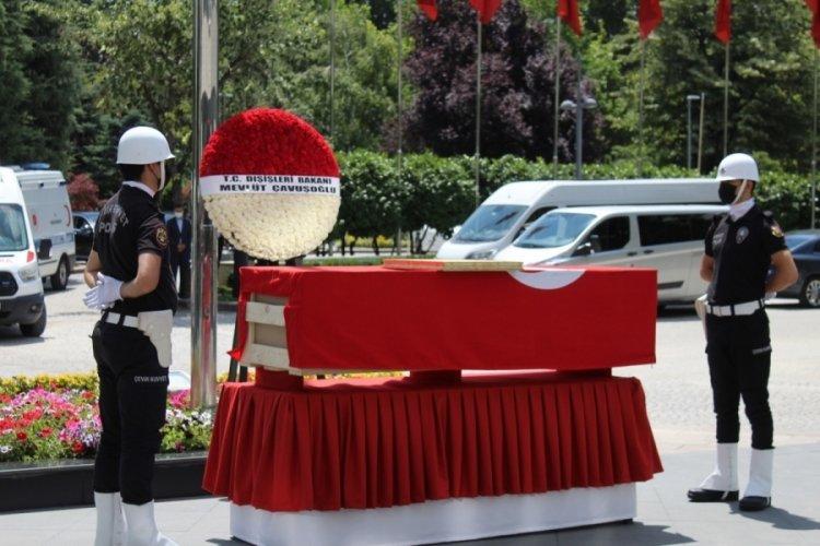 Başkonsolos Yorulmaz için Dışişleri Bakanlığı'nda tören düzenlendi