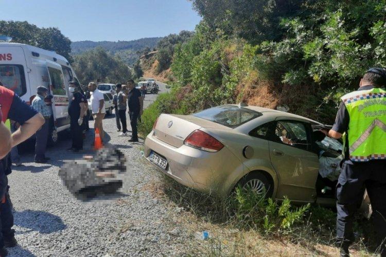 Aydın'da feci kaza: 2 ölü, 2 yaralı