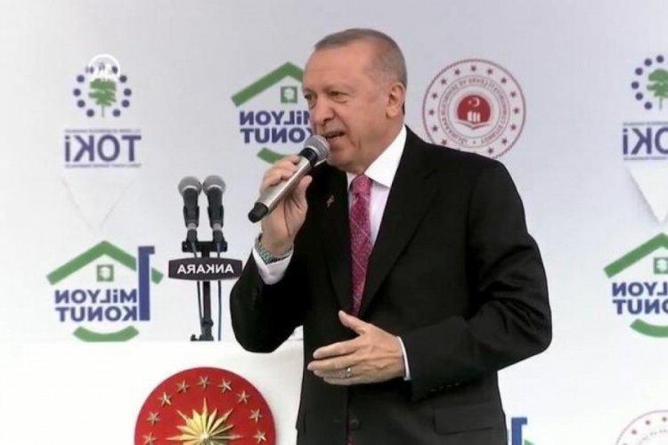 TOKİ'de 1 milyonuncu konut teslim töreni