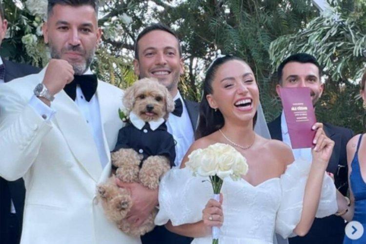 Ünlü şarkıcı Zeynep Bastık evlendi