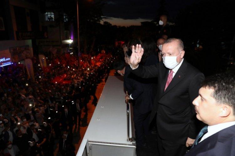 Erdoğan: Hedefimiz 2023'e yönelik hazırlıklarımızı en güzel şekilde sürdürmek