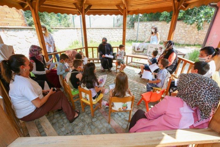 """Bursa Nilüfer'de """"Biz Bu Yaz Kütüphanedeyiz'' etkinliği"""