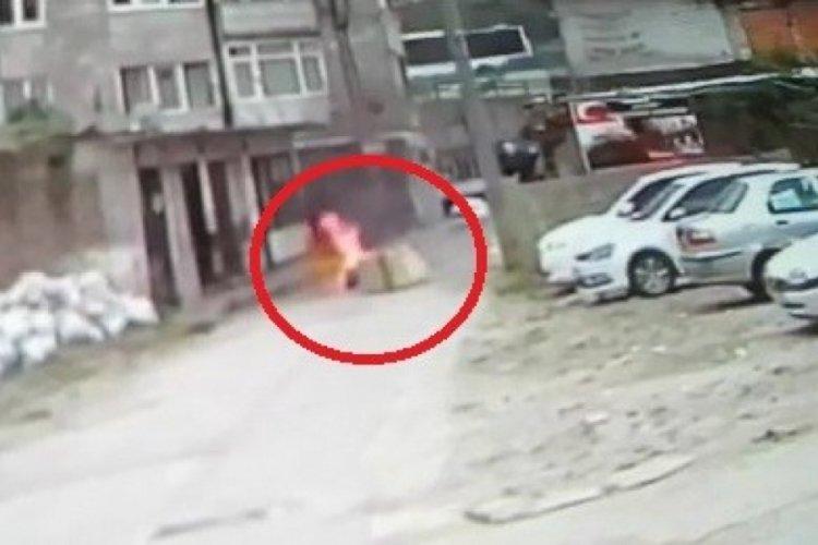 Bursa'da hapisten çıktı, kendini cayır cayır yaktı