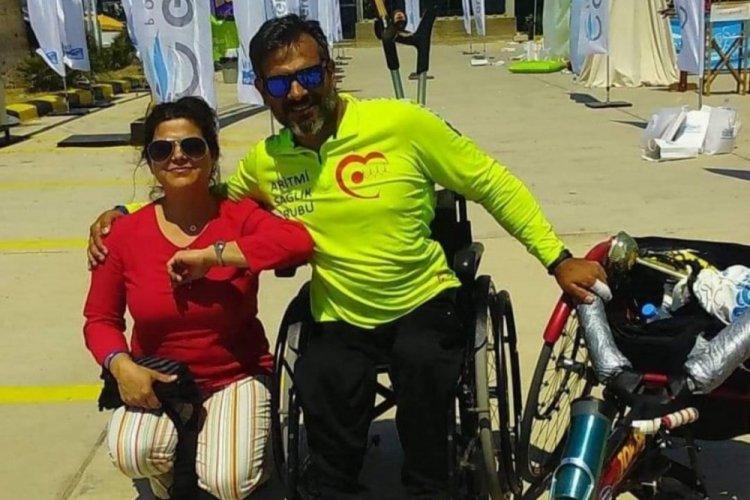 Engelli atlet Nihat Demir, hiçbir 'engel' tanımıyor