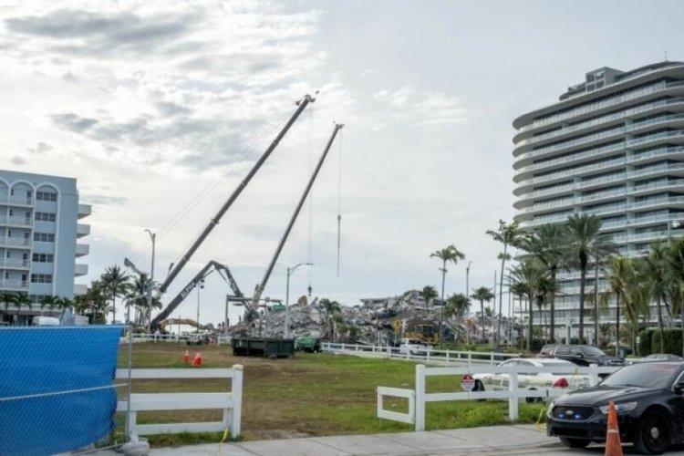 Florida'da çöken 12 katlı binada acı bilanço: 60 can kaybı