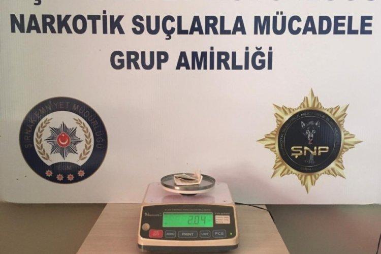 Şırnak'ta uyuşturucu tacirlerine operasyon