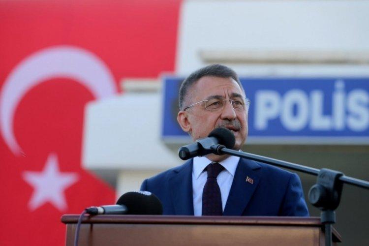 Fuat Oktay'dan Kıbrıs için 2 devletli çözüm vurgusu