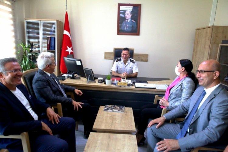 Bursa Nilüfer Belediye Başkanı Erdem'den Kılıç'a başarı ziyareti