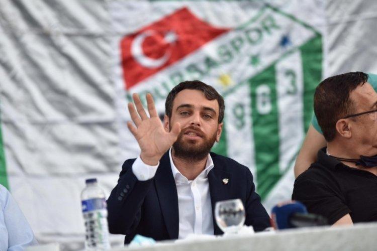 Bursaspor'da tahtanın açılmasına 13 dosya kaldı