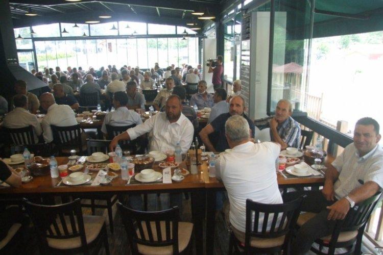 Bursa Mustafakemalpaşa 'da muhtarlardan 'birlik' toplantısı