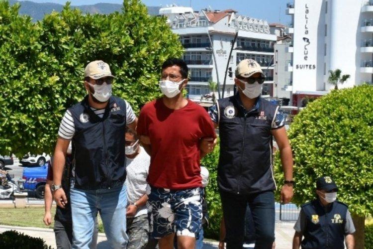 Yurt dışına kaçmak üzereyken yakalanan terörist tutuklandı