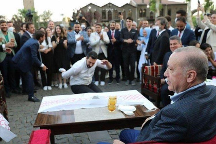 Cumhurbaşkanı Erdoğan, Diyarbakır'da gençlerle buluştu