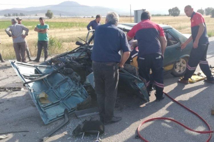 Burdur'da zincirleme kaza