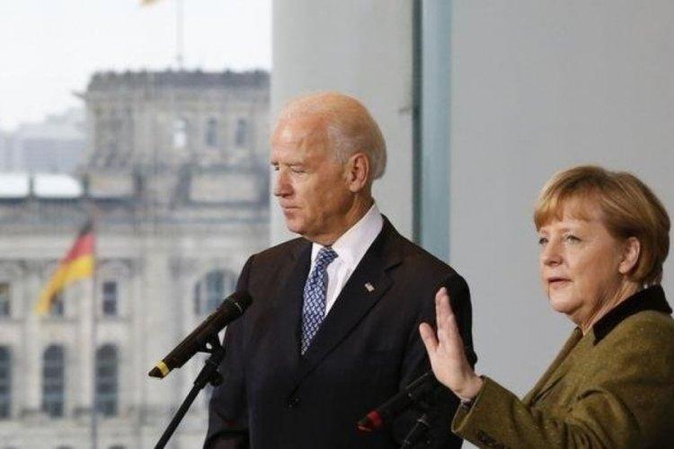 Biden ve Merkel Beyaz Saray'da görüşecek
