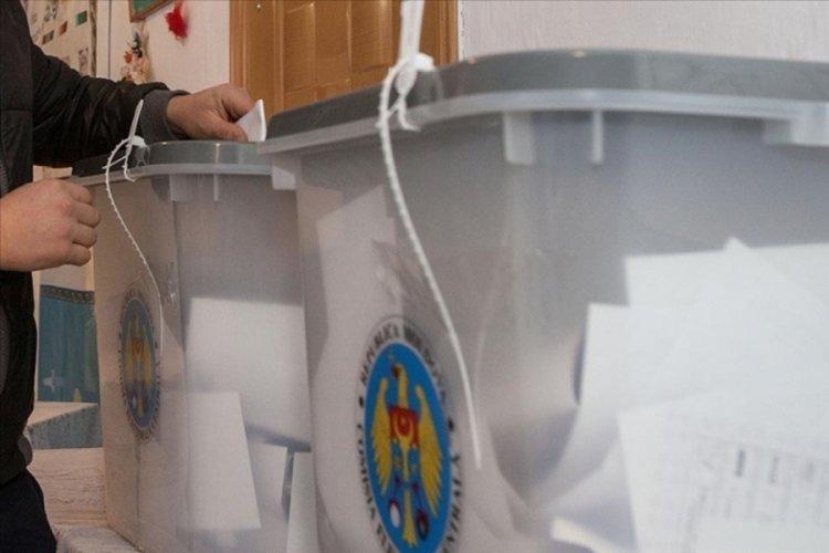 Moldova'daki erken genel seçiminde PAS partisi önde götürüyor