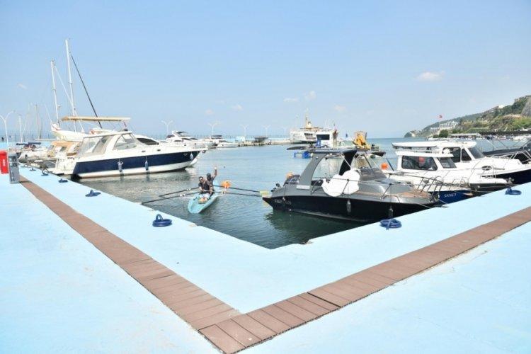 Bursa Güzelyalı Yat Limanı yenilendi