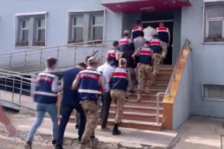 PKK'ya yardım ve yataklık eden 7 şahıs operasyonla yakalandı