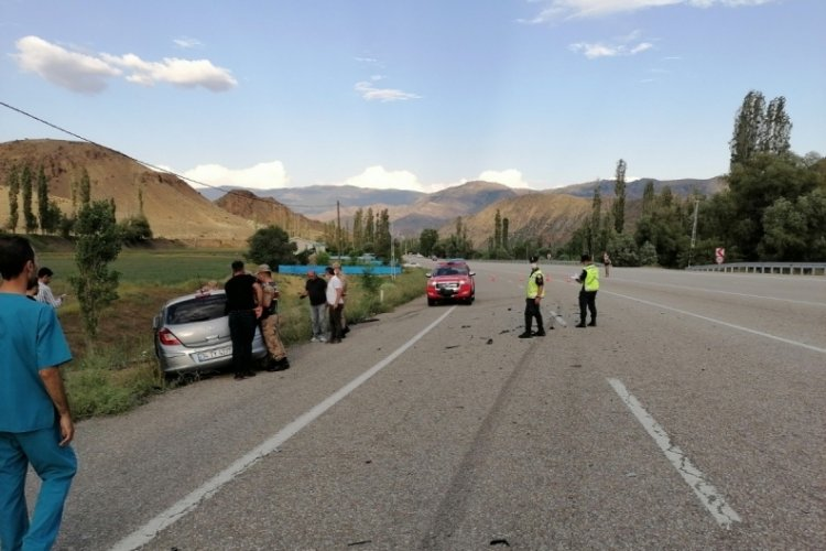 Erzurum'da feci kaza: 9 yaralı