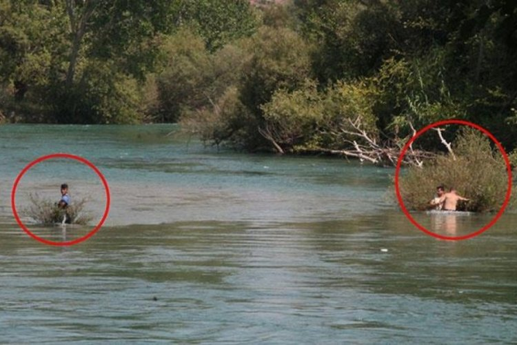 Antalya'da su seviyesi aniden yükselince fenalık geçirdiler