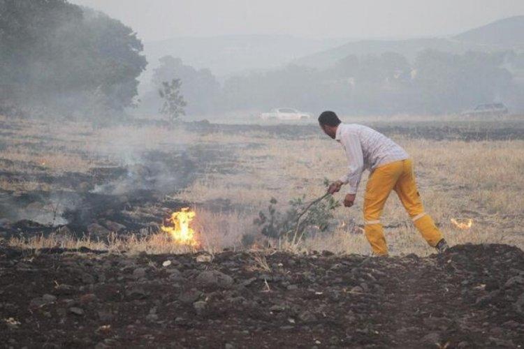 Manisa'daki yangında 'sabotaj' şüphesi!
