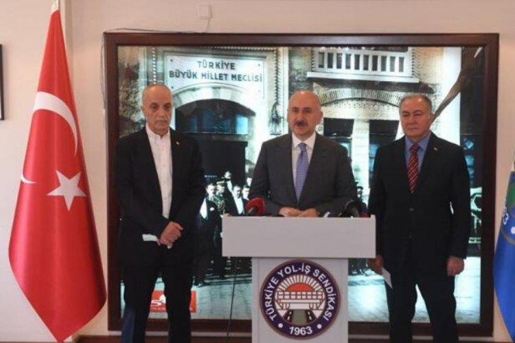 Bakan Adil Karaismailoğlu: Türkiye, işçisinin emeğiyle kalkınacak