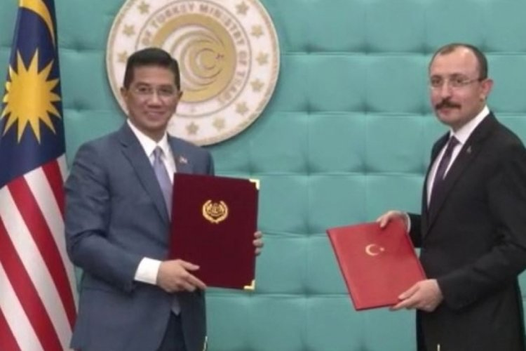 Ticaret Bakanı Muş, Malezya Ticaret Bakanı Mohamed Ali ile görüştü