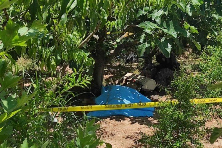 Bursa'da çapa motoru ve ağacın arasında sıkışan kişi hayatını kaybetti