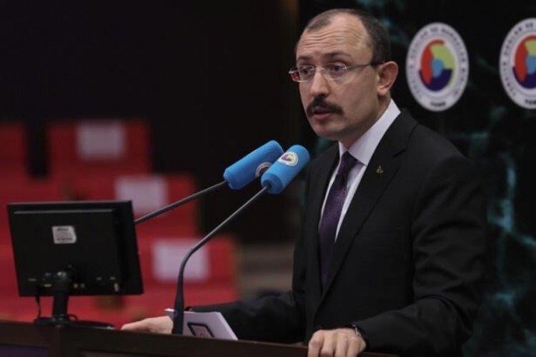Bakan Mehmet Muş, TOBB Türkiye Sektör Meclisleri İstişare Toplantısı'nda konuştu