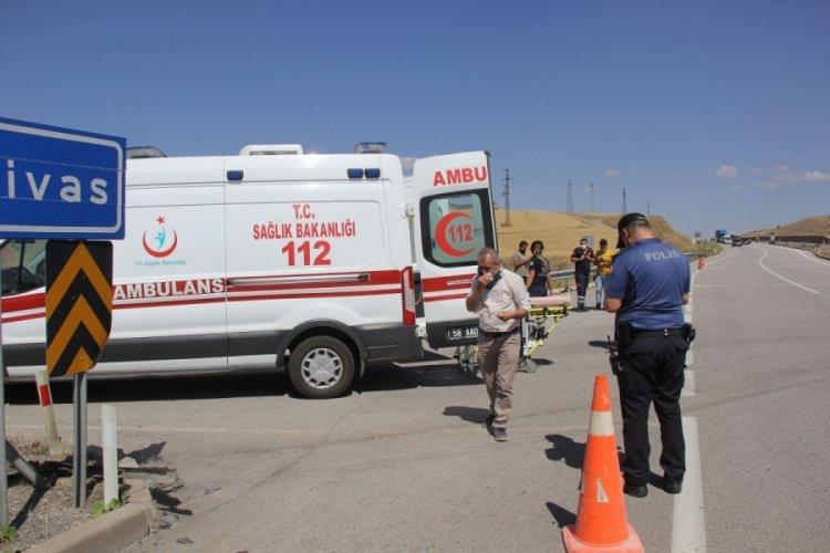 Sivas'ta kaza: 6 yaralı