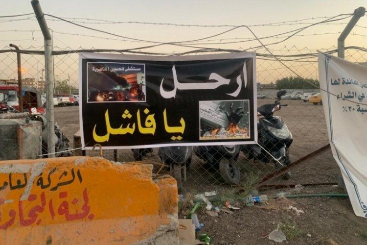 Irak'taki yangında can kaybı 124'e yükseldi