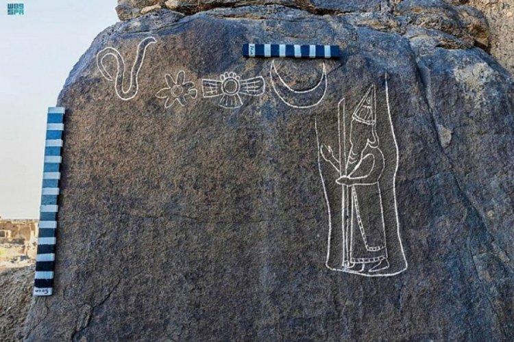 Suudi Arabistan'da 2 bin 600 yıllık 'yazıt' keşfedildi