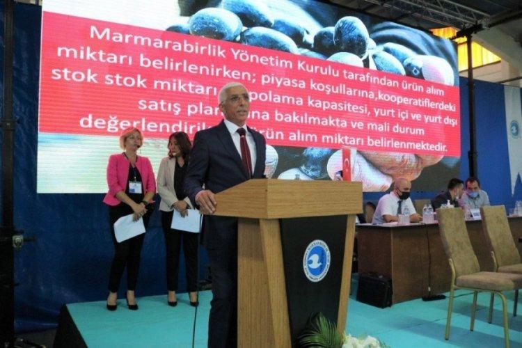 Bursa Marmarabirlik genel kurulu yapıldı