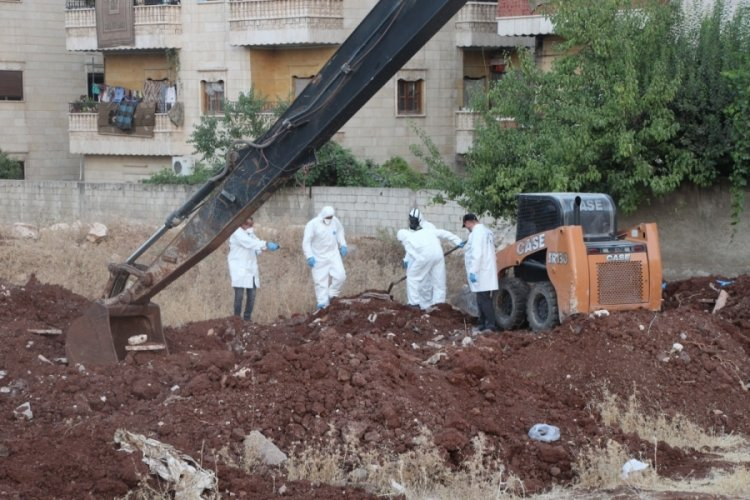 PKK vahşeti: Afrin'de 35 kişinin cesedi bulundu