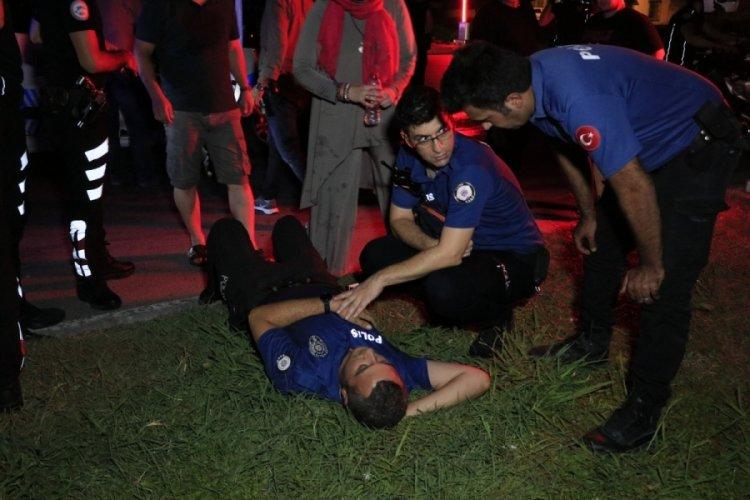 Adana'da feci kaza: 2'si polis 5 yaralı